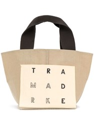Trademark Small Reversible Tote Neutrals