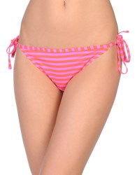 Maison Scotch Swim Briefs Fuchsia