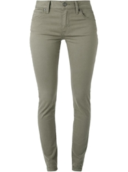 Burberry Brit Skinny Jeans Green