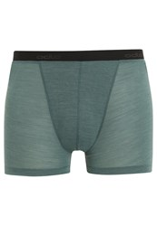 Odlo Revolution Shorts Silver Pine Green