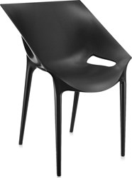 Kartell Dr. Yes Chair Set Of 2 Black Brown Grey