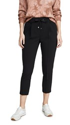 Atm Anthony Thomas Melillo Micro Twill Pull On Pants Black