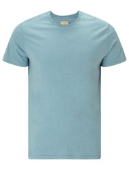 John Lewis And Co. Vintage Hemp Cotton T Shirt Blue