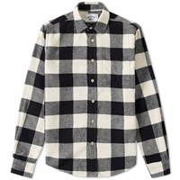 Portuguese Flannel Buffalo Plaid Shirt Black
