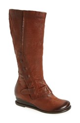 Miz Mooz Women's Bennett Boot Brandy Leather