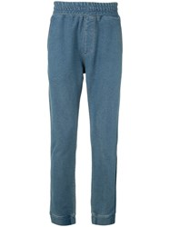 Guild Prime Denim Track Trousers Blue