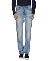 Reign Denim Denim Trousers Men Blue