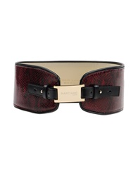 Guess By Marciano Belts Maroon