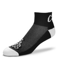 For Bare Feet Chicago White Sox The Cuff Ankle Socks Black