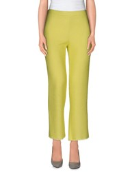Roberto Collina Trousers Casual Trousers Women Acid Green