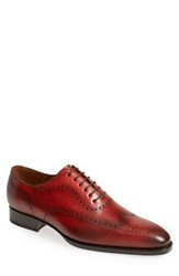 Men's Sendra 'Westport' Wingtip Oxford Red