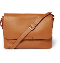 Marc By Marc Jacobs Leather Messenger Bag Brown