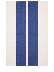 Normann Copenhagen Guard Set Of 2 Tea Towels Blue White