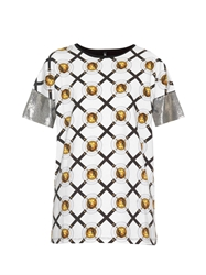 Versus Iconic Print Relaxed Fit T Shirt