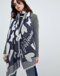 Vivienne Westwood Heart And Star Scarf Multi