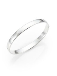 Roberto Coin 18K White Gold Bangle Bracelet