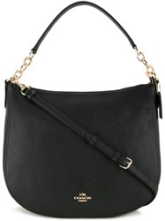 Coach Chelsea Hobo Tote Black