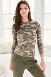 Out From Under Anna Thermal Long Sleeve Top Multi