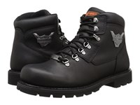 Harley Davidson Glenmont Black Men's Lace Up Boots