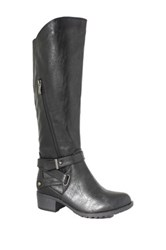 Intaglia Westport Extra Wide Calf Boot Wide Width Available Black