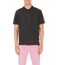 Stussy Vacation Embroidered Back Shirt Black