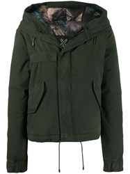 Mr And Mrs Italy Hooded Parka Jacket Green