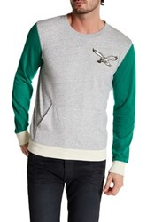 Mitchell And Ness Nfl Eagles Team To Beat Crew Neck Sweatshirt Multi