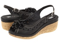 Spring Step Lolita Black Women's Wedge Shoes