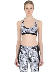 Under Armour Heatgear Stretch Printed Sports Bra