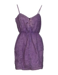 0051 Insight Short Dresses Purple
