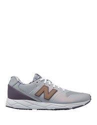 New Balance Floral Printed Lace Up Sneakers Grey