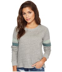 Rvca At Ease Heather Grey Women's Pajama Gray