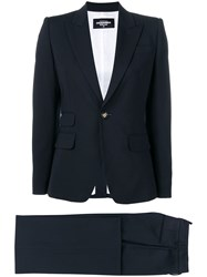Dsquared2 Marlene Two Piece Suit Blue