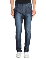 Gaudi' Denim Pants Blue