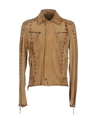 Dandg D And G Jackets Beige
