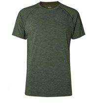 2Xu Heat Stretch Jersey T Shirt Green