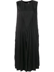 Maison Martin Margiela Pleated Sleeveless Dress Black
