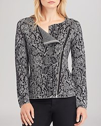 Kenneth Cole New York Cindy Digital Python Print Cardigan