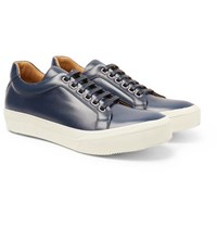 Armando Cabral Broome Leather Sneakers Navy