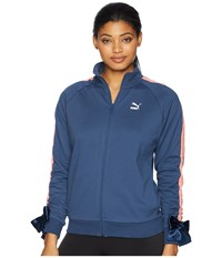 Puma Bow Track Jacket Sargasso Sea Coat Blue