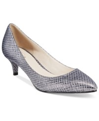 Cole Haan Juliana 45 Kitten Heel Pointed Toe Pumps Women's Shoes Blue