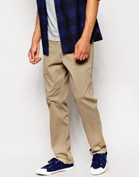 Lee Chinos Brooklyn Straight Fit Twill Beige