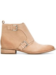 Michael Michael Kors 'Adams' Ankle Boots Nude And Neutrals