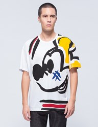 Iceberg Mickey Mouse Sketch S S T Shirt