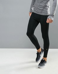 New Look Sport Running Tights In Black Black