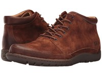 Born Nigel Boot Rust Brown Combo Lace Up Boots