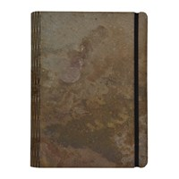 Bark And Rock Atlas Stone Notebook Grey