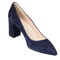 John Lewis Ava Pointed Toe Court Shoes Navy