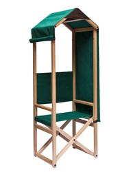 Internoitaliano Rolo Folding Chair Beige Green