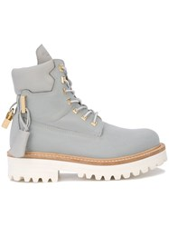 Buscemi Site Boots Grey